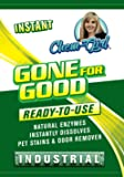 GONE FOR GOOD - Super Enzymatic Urine Odor Stain Remover, Eliminate Strong Dog & Cat Pee Smell-Clean Carpet- Rug- Dog Beds Floor- Enzyme Neutralizer Spray