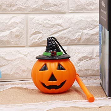 B//O LED Halloween Projector House Party Decoration Pumpkin Ghost Skeleton Light