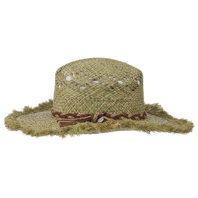 Barts Anise Cappello di Paglia da Donna cappello da donna cappello estivo  Taglia unica - verde 158fb55cace4