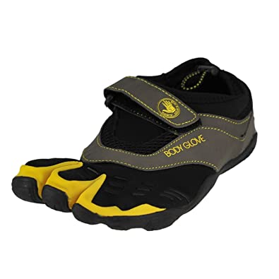 69c24bdb8e87 Body Glove 3T Barefoot Max Black Yellow Mens Water Sports Size 10M