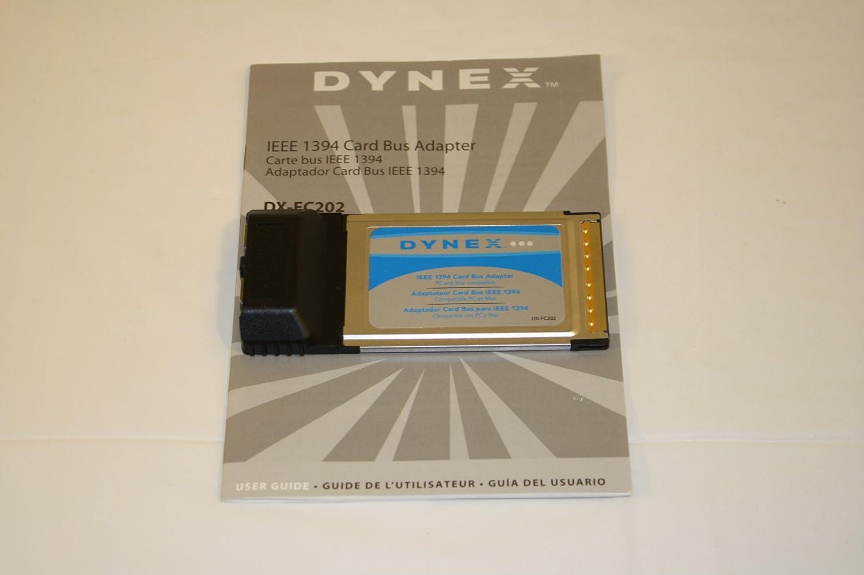 Dynex IEEE 1394 Firewire Notebook Card - 32bit Card Bus Adapter