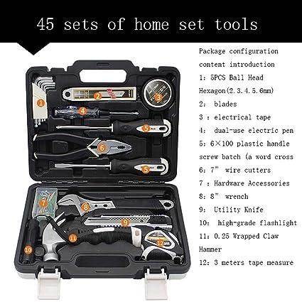 Amazon.com: Kit de herramientas, herramientas de acero CR-V ...