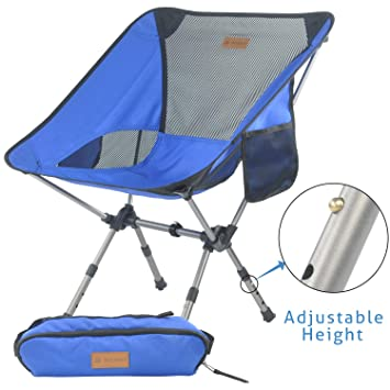 De Avec Ultraléger Chaise Portative Sac Camping Pliable Randonnée Pêche Transports Pour Réglable Mechhre Hauteur Pliante odxBQshtrC