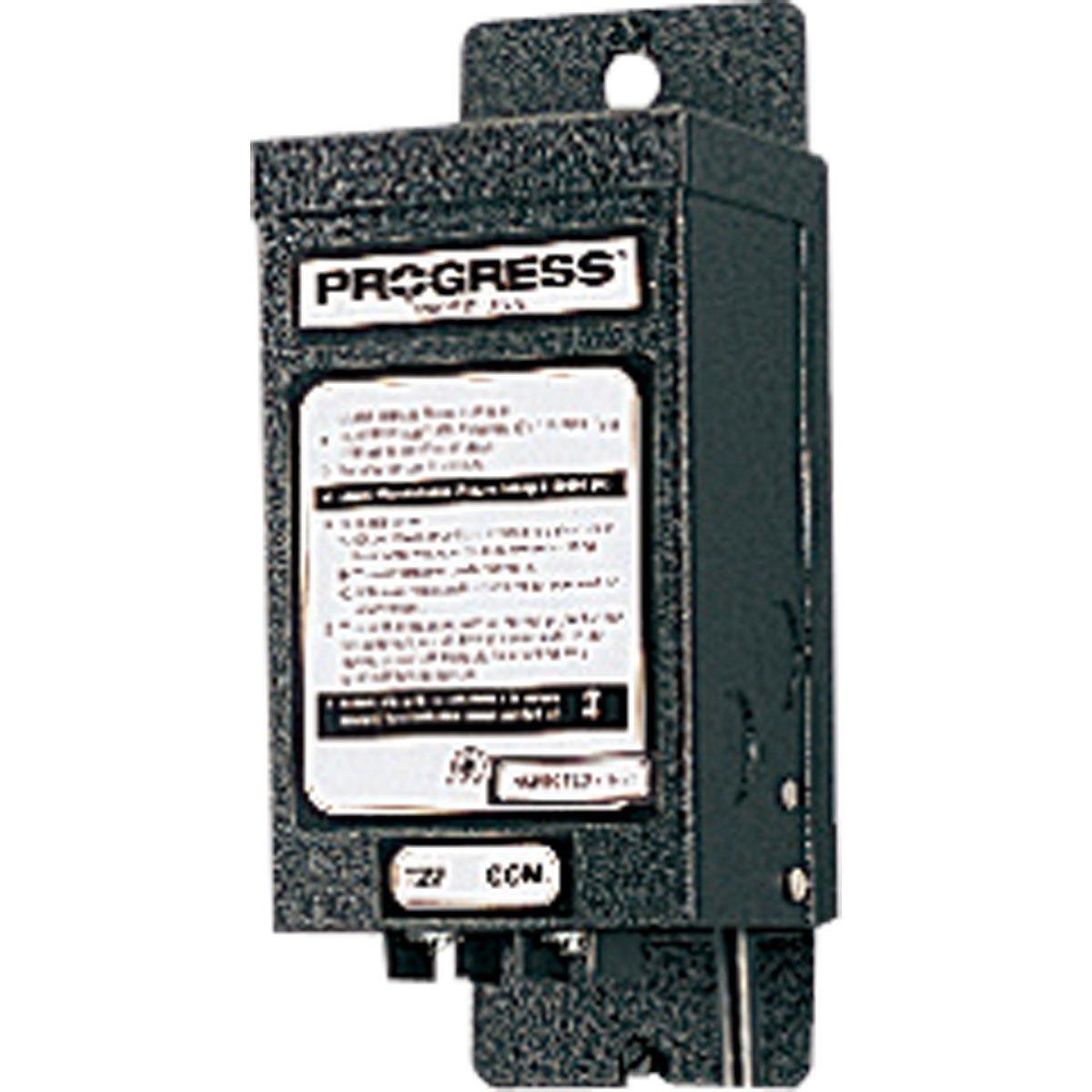 Progress Lighting P8592-31 Manual 12 Volt Transformer, Black