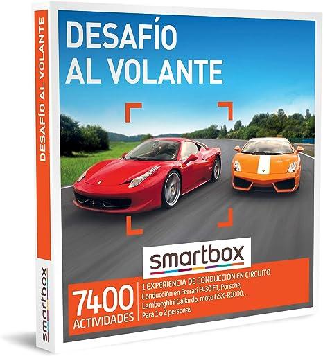 SMARTBOX - Caja Regalo - Desafío al Volante - Idea de Regalo - 1 ...