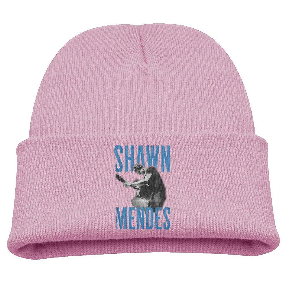 Shawn Mendes Live Guitar Warm Winter Hat Knit Beanie Skull Cap Cuff Beanie Hat Winter Hats Boys Larenoto