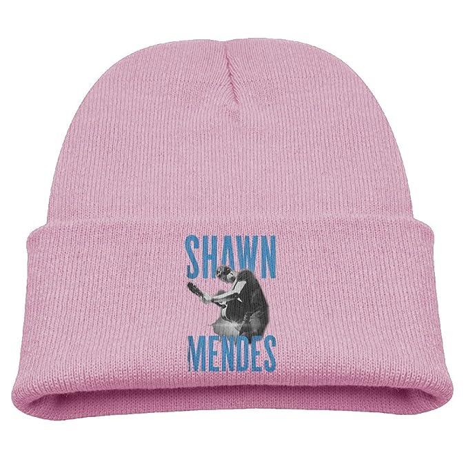 Shawn Mendes Live Guitar Warm Winter Hat Knit Beanie Skull Cap Cuff Beanie  Hat Winter Hats 6d36b850351