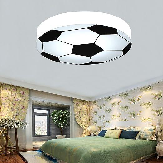 SHIEM LED Lámpara de techo de fútbol Habitación para niños ...