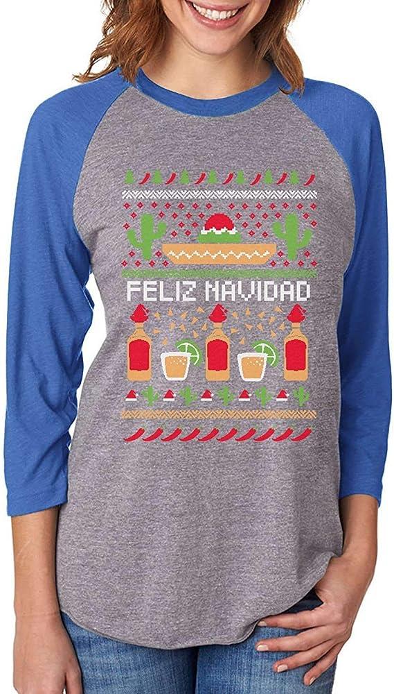 Kelly Kings Feliz Navidad mexicana fea Navidad suéter Navidad ...