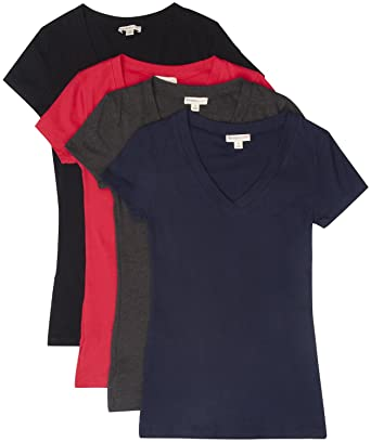 fdfe109c7499 Top Legging TL Women's 4 or 6 Pack Comfy Basic Cotton Short Sleeves ...