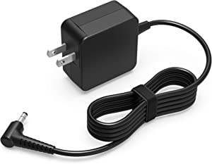 45W 7.5Ft AC Charger Fit for Lenovo Ideapad Yoga Miix 510 520 310 330 D330 510-12IKB 510-12ISK 520-12IKB LTE Type 80U1 81AF 81SS 80U1 80X4 81NC 81FS 81QG Tablet Laptop Power Supply Adapter Cord