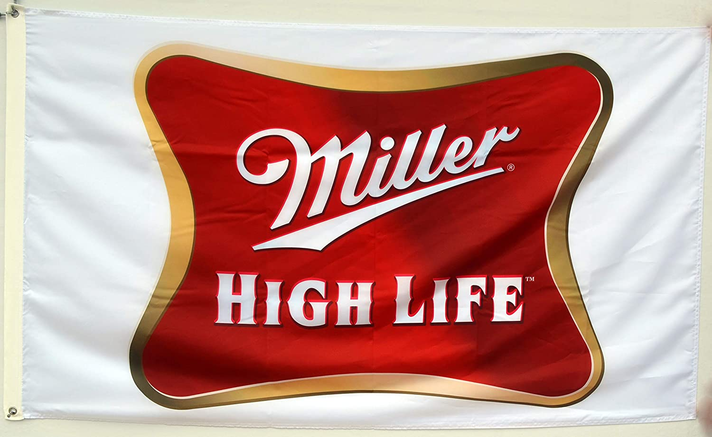 Miller High Life  Beer Flag Banner 3x5Feet