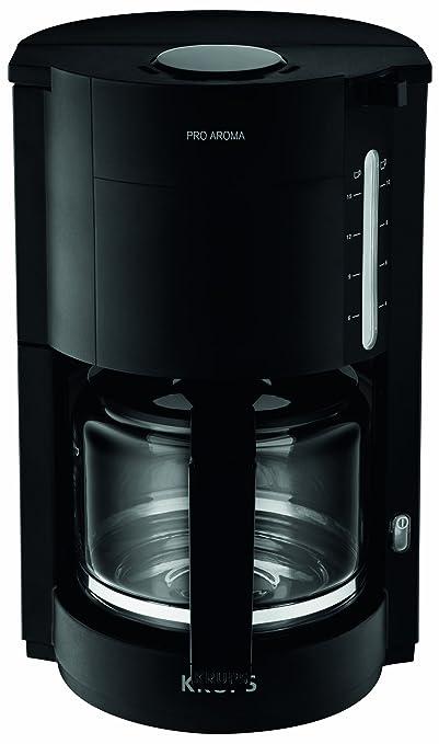 8 opinioni per Krups ProAroma freestanding Drip coffee maker 1.25L 15cups Black- coffee makers