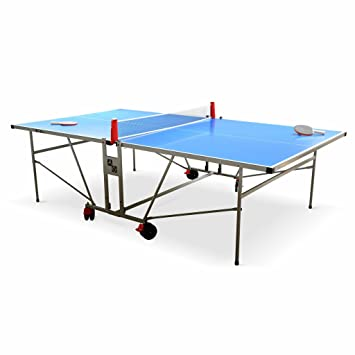 Alice\'s Garden Table de ping Pong Outdoor Bleue - Table Pliable avec ...