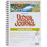 "Strathmore Visual Journal Spiral Bound 9""X12""-Mixed Media Vellum"