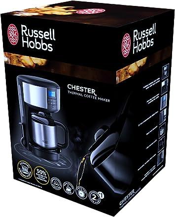 Russell Hobbs 20670-56 Chester - Cafetera de goteo digital térmica ...