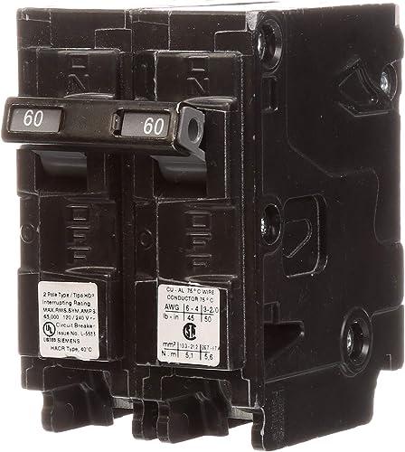 Q260HH 60-Amp Double Pole 65kA Type HQP Circuit Breaker
