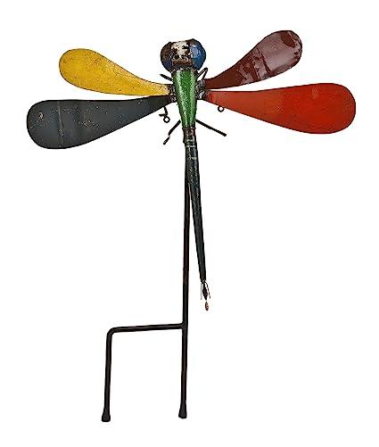 Amazoncom Upcycled Emporium Colorfully Bright Kimberly Dragonfly