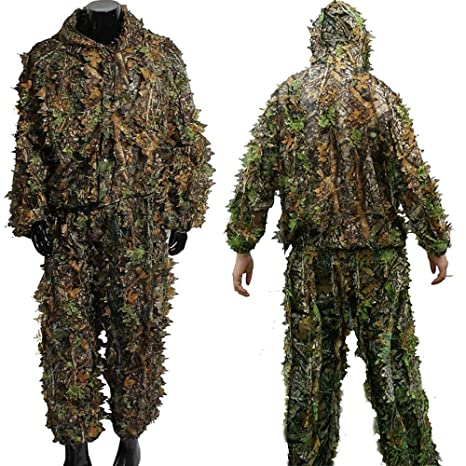 d7e8f41174fa7 Hunting Ghillie Suit Camouflage Sniper 3D Tactical Yowie Sniper Hunting  Clothes Bionic Ghillie Suit Camouflage Hunting
