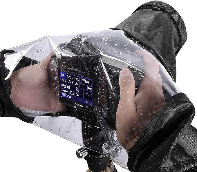 Pro Impermeable Cubierta de la lluvia protector de lente cámara caso para Nikon//Pentax//Canon Dslr