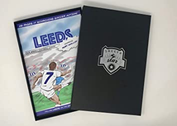 Personalised Soccer Star Comic Book - Leeds United