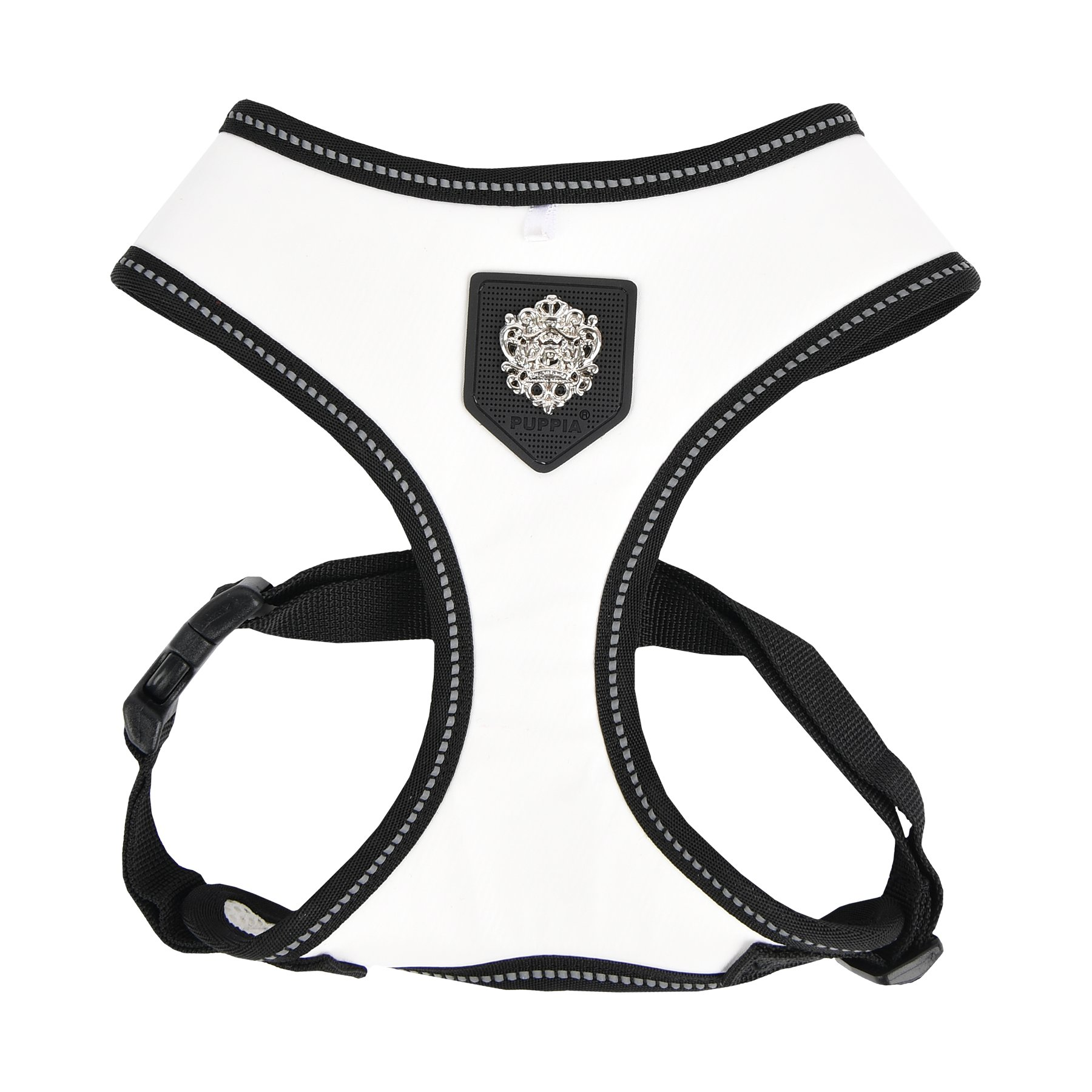 Puppia Legacy Harness A, Medium, White by Puppia (Image #1)