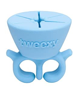 Tweexy - The Original Wearable Nail Polish Bottle Holder, Island Blue