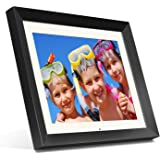 """Aluratek (ADMPF415F) 15"""" Hi-Res Digital Photo Frame with 2 GB Built-In Memory and Remote (1024 x 768 Resolution) White Mattin"""