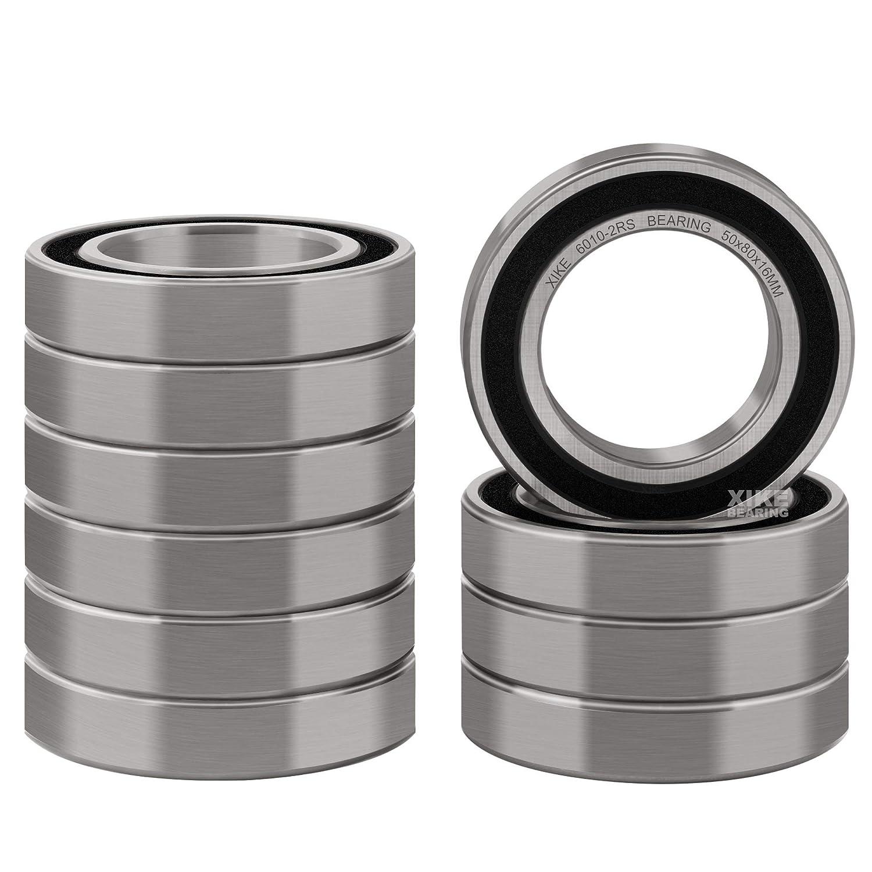 6010-2RS C3 Premium Sealed Ball Bearing 50x80x16mm