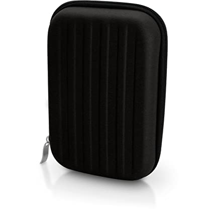 iGadgitz Black EVA Hard Travel Case Cover for Creative Sound