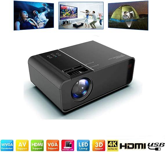 Proyectores WiFi /Mini proyector de video LED Full HD-8000 Lumen ...