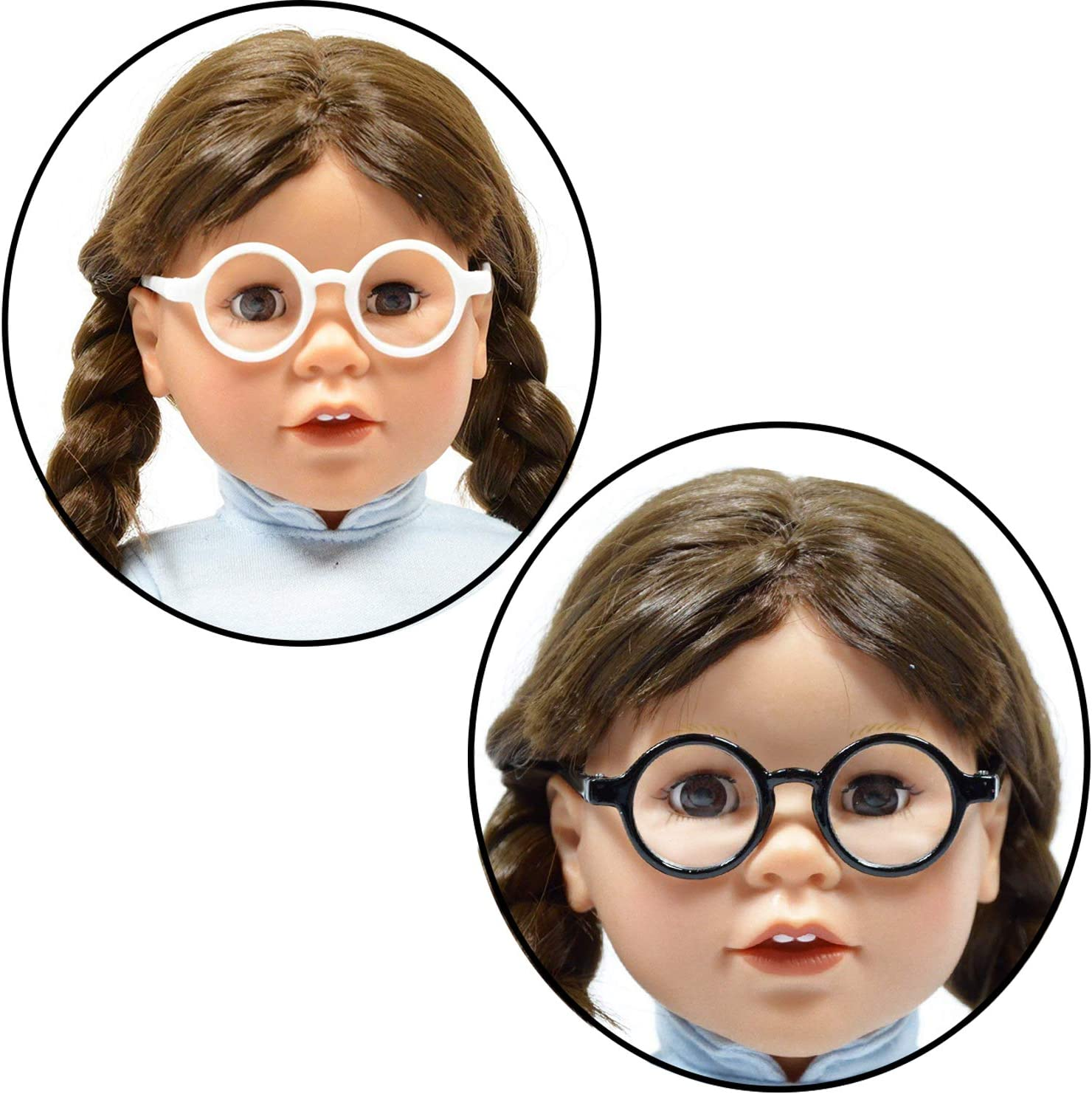 Low Price Cool Doll Glasses For 18 Inch Doll Toy Cloth Doll Wear Handmade