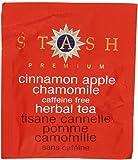 Stash Tea Cinnamon Apple Chamomile Herbal Tea, 100 Count Box of Tea Bags in Foil