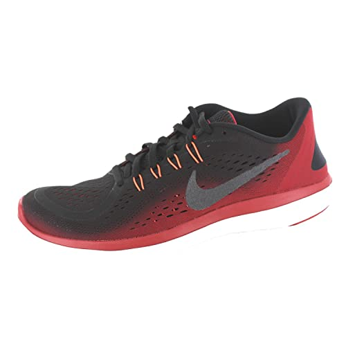 Zapatillas de running Nike Flex RN 2017 para hombre Hematita negra / metalizada / Tough Red Size 14 M US: Amazon.es: Zapatos y complementos
