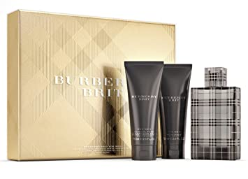 b014e8d59b4 Amazon.com  BURBERRY Brit for Men Eau de Toilette Gift Set (3.3 oz ...