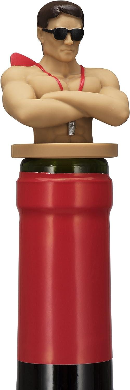 Drinking Buddies Lifeguard Wine Guard Bottle Stopper, 1