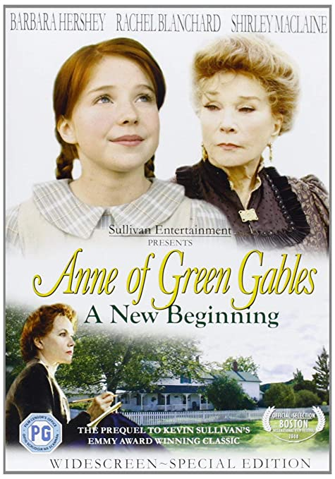 Anne Of Green Gables: A New Beginning DVD by Barbara ...