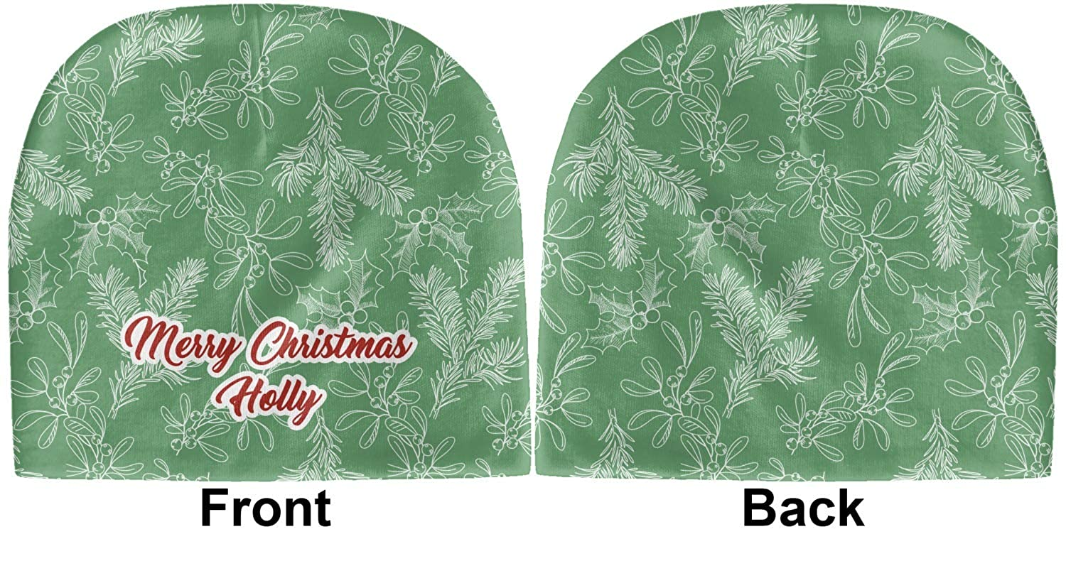Green Beanie YouCustomizeIt Christmas Holly Baby Hat Personalized