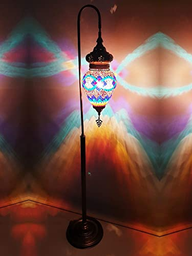 Mosaic Lamps 61 Floor Lamp Torchiere Lights Turkish