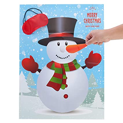 amazon com miss fantasy christmas party games activities pin the