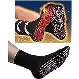 Self Heating Socks, Tourmaline Self-Heating Therapy Magnetic Socks Comfortable Breathable Massage Anti-Freezing Warm…