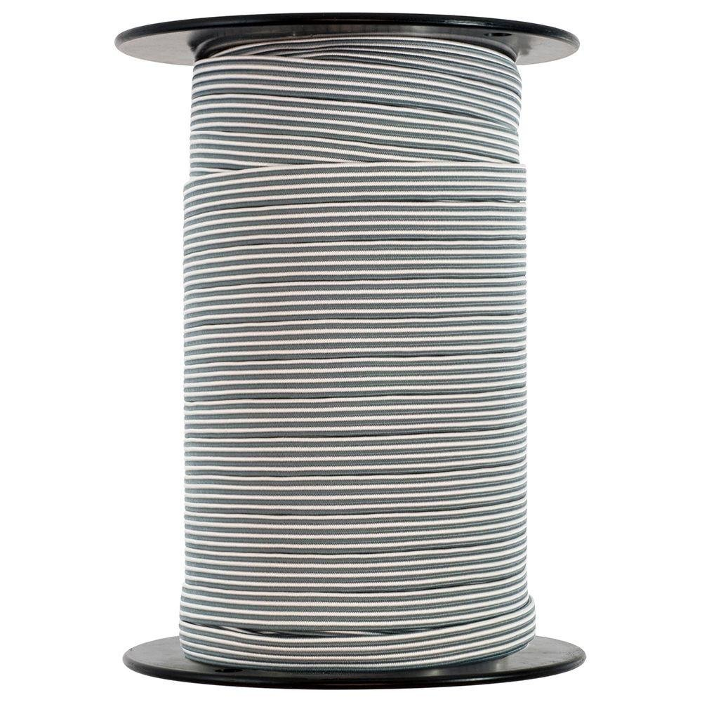 Keeper 06413 1/2 in. x 200 ft. Rubber Flat Bungee Cord Reel
