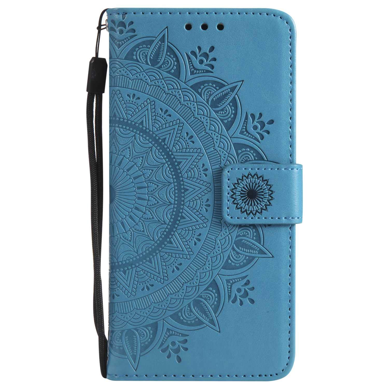iPhone 7 8 Case, The Grafu Leather Case, Premium Wallet Case with [Card Slots] [Kickstand Function] Flip Notebook Cover for Apple iPhone 7/8, Blue