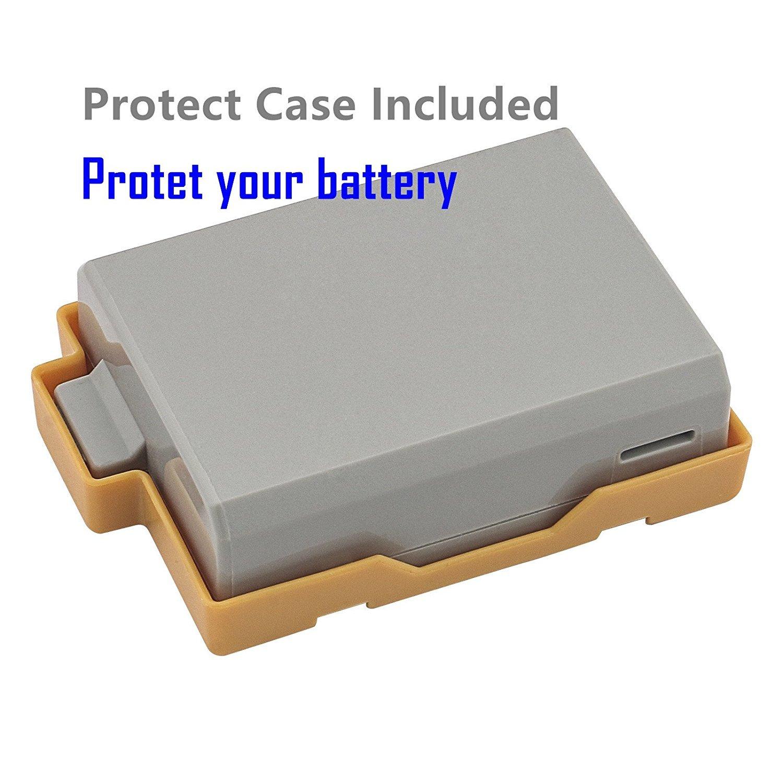 Amazon.com: Kastar 1 Pack LP-E5 Batería + Cargador de ...
