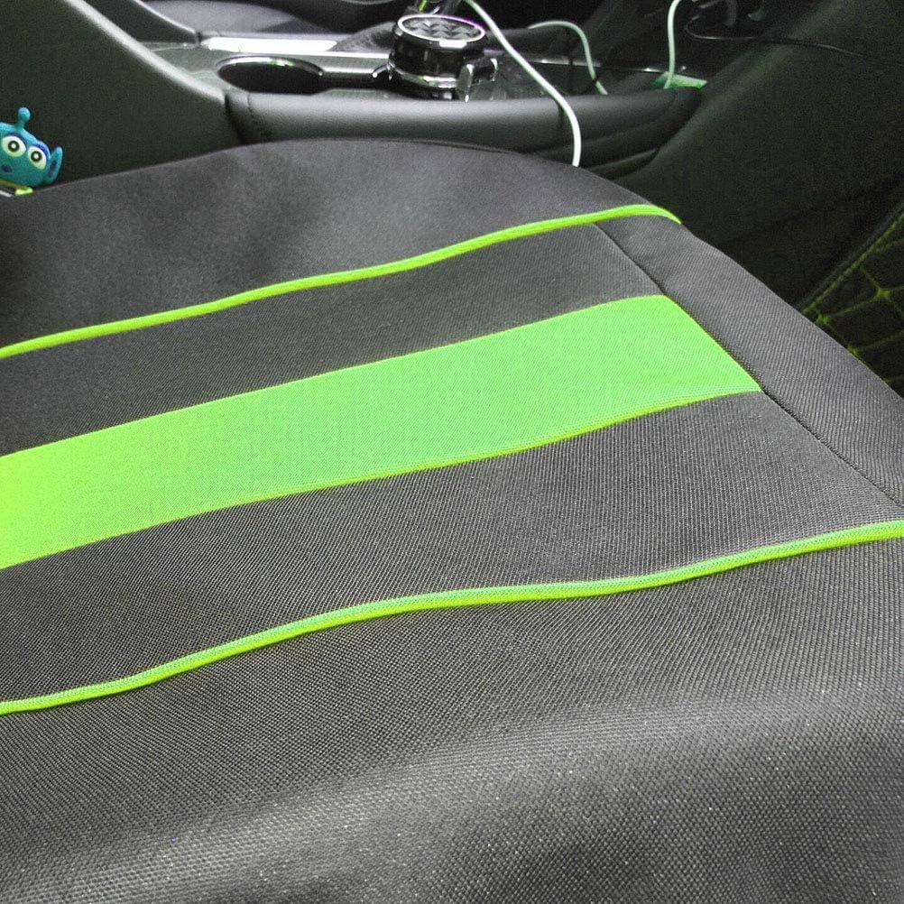 9 Teile//Satz Einfache Mode Universal Autositzbezug Vollbesatz Autositz Interior Styling Dekoration Protector gr/ün
