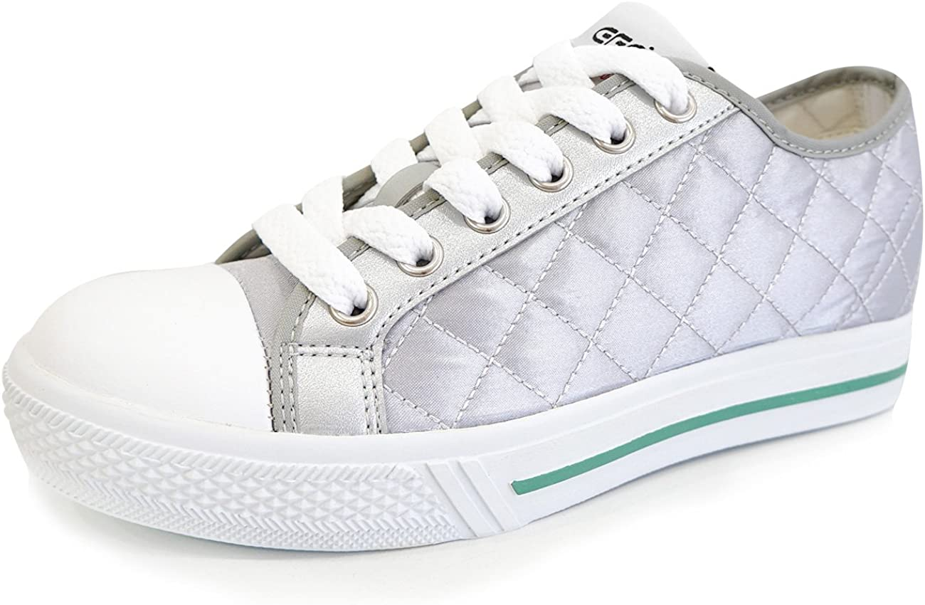 6.5 D KOR M MNX15 Womens Elevator Shoes Height Increase 1.9 WIZE Silver US // 235mm , Silver