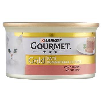 Gourmet Gold Pate salmón Gr. 85: Amazon.es: Productos para ...