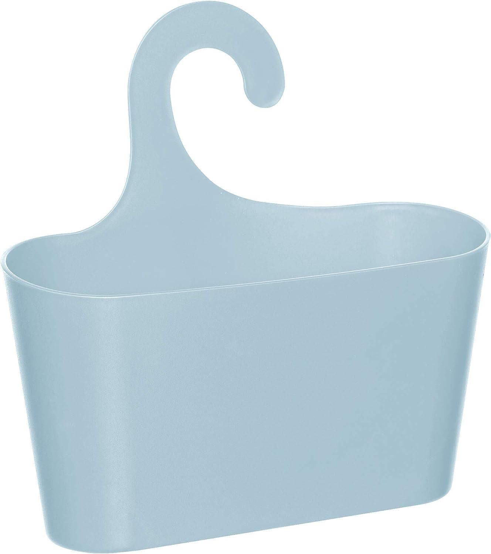 WC etc. Juego de 2 cestas de Almacenamiento estables se compone de 2 cestas de Ducha con Ganchos para Colgar para ba/ño Garaje Cesta Colgante Universal para Ducha toyma Cocina Ducha s/ótano