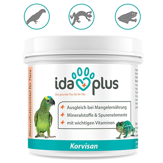 AniPlus korvisan 150 g Producto natural para Ornamentales Pájaros, palomas, Pájaros, onda loros, loros, terrarientiere, reptiles: Amazon.es: Productos para ...