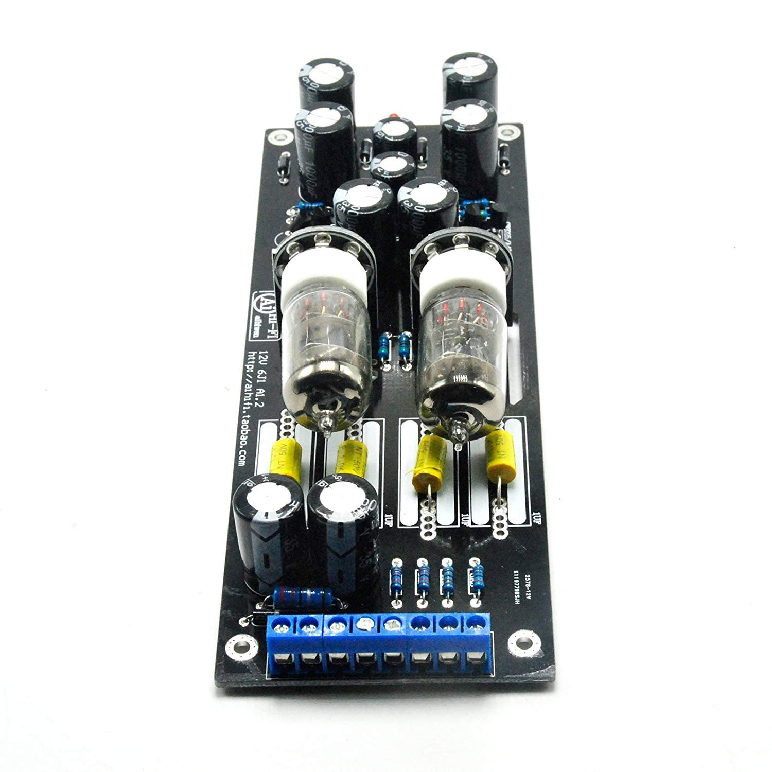 6J1 Valve Pre-amp Tube PreAmplifier Kit Assembled Board Audio Musical Fidelity by Jolooyo